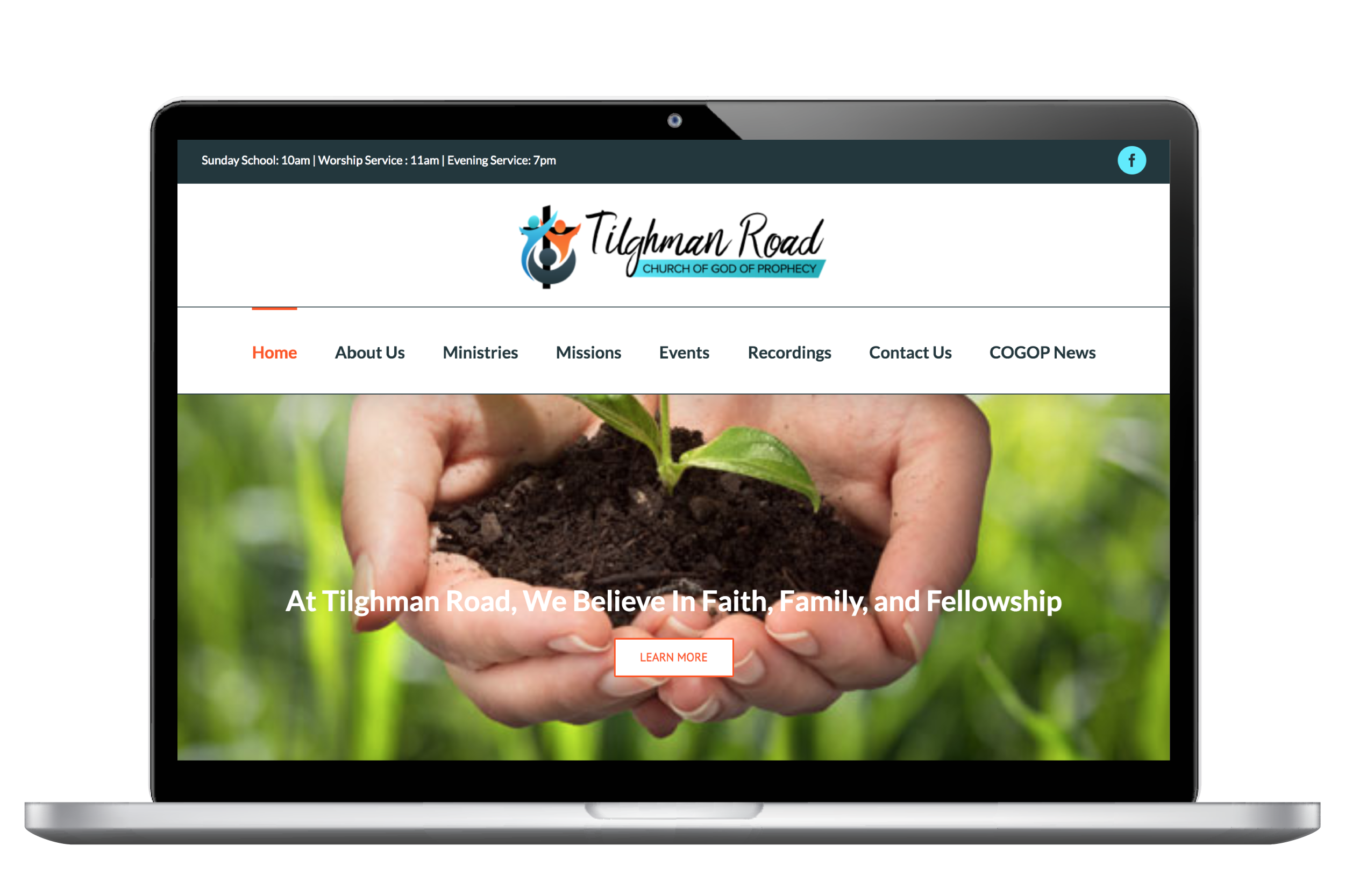 example of web designs Salisbury, MD